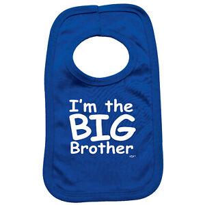 Funny Baby Infants Bib Napkin - Im The Big Brother