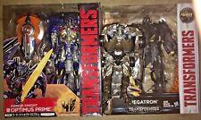 transformers movie the last knight armor Optimus prime Megatron Leader LOCKDOWN