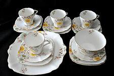 Ensemble à thé fine porcelaine anglaise Bell China – Ancien