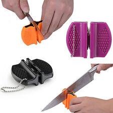 New Ceramic Rod Tungsten Steel Camp Pocket Home Kitchen Outdoor Knife Sharpener