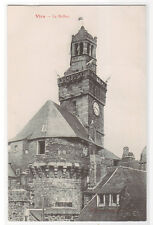 Le Beffroi Clock Tower Vire Normandy France 1910s postcard