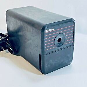 Boston Electric Pencil Sharpener Black Model 18