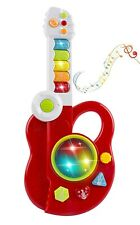 Toy Electric Guitar 3-in-1 With Keyboard And Jazz Drum 3D Lights Up Kids Playset