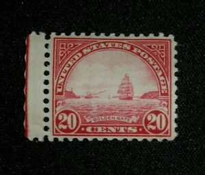 US  GOLDEN GATE 20 CENTS POSTAGE STAMP with Margin & Unused C1923