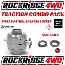 Spartan Locker for Nissan Patrol w/ 31 spline axles w/ HD X/P WITH Axle Seals