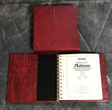 U.S. Scott Platinum Hingeless Album Volume 2 1904-1968 Plate # Single Stamps