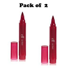 Pack of 2 e.l.f. Lip Stain, Crimson Crush (22124)
