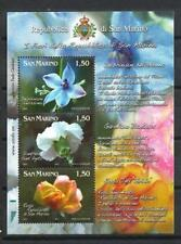 Saint-Marin 2011 fleurs bloc neuf ** 1er choix