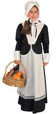 Pilgrim Girl Medium 8 - 10 Colonial Costume