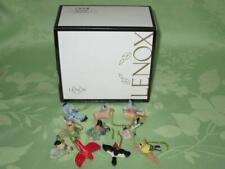Lenox ~ Garden Bird ~ 10 pc. miniature ornament set ~ free shipping