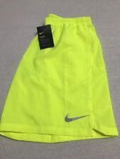 NWT Mens Nike Small Yellow Running Shorts!