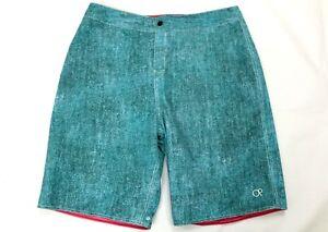 OP Flex Men's Reversible Swim Shorts Red Or Blue Size 30