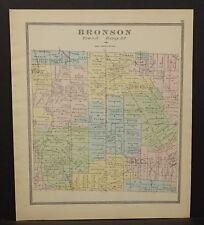 Ohio Huron County Bronson Township 1891  !Y14#81