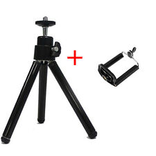 Universal Mini Extended Tripod Table Top Compact Stand Extra Long for Cell Phone