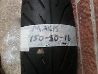 MAXXIS TYRE 150/80/16  #  150 80 16   NEW OLD STOCK TYRE. # FREE POST