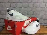 NIKE AIR MAX UK 4 EU 36.5 TAVAS WHITE GREY TRAINERS RRP £60 LADIES CHILDRENS LG