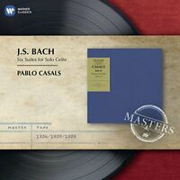 Pablo Casals - Bach Cello Suites - EMI Masters [CD]