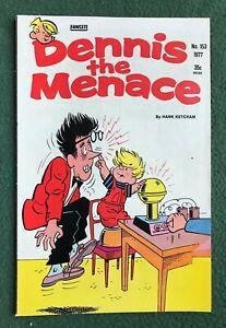Dennis the Menace #153 Fawcett Bronze Age Hank Ketcham f/vf
