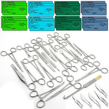 108 Pcs Caninefeline Spay Pack Veterinary Surgical Instruments Training Sutures