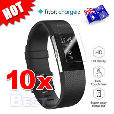 10X For Fitbit Charge 2 Compact TPU Hardness LCD Screen Protector Real Films AU