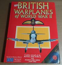 AEROSPACE PUBLISHING - BRITISH WARPLANES OF WORLD WAR II DANIEL J. MARCH