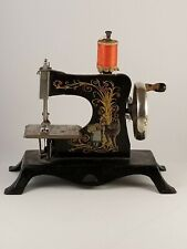 Vintage Child's Toy Sewing Machine Germany Casige 25 Little Red Riding Hood