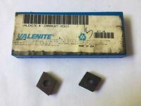 Valenite Carbide Inserts CNMA432TVC610 Quantity 2