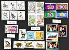 Worldwide ALL MNH Stamps Sets Singles & Souvenir Sheets FREE Shipping U. S. 9