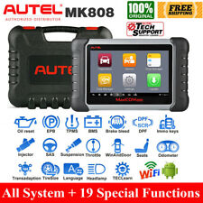 Autel MaxiCOM MK808 OBD2 Diagnostic Scanner Full System IMMO Key Coding as DS808