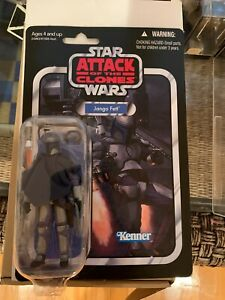 Star Wars The Vintage Collection Jango Fett VC34 MOC Attack of the Clones
