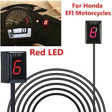 Motorcycle Gear Indicator Red LED Display for Honda CB500 CBR500RR CB650F CB400F
