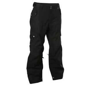 NEW 686 WILTING CARGO SNOW PANT Men's XL Ski Snowboard Pants Black MSRP $235