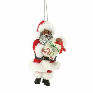 Department 56 African American Christmas 2020 Holiday Ornament 6006462 *Closeout