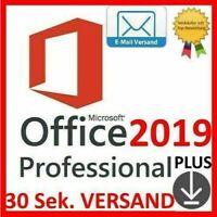 Microsoft Office 2019 Professional Plus Vollversion Lizenzschlüssel Lizenz Key ✅