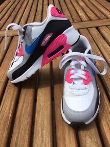 Nike Air Max 90 Sneaker Gr. 33,5 2x getragen NEUWERTIG Schuhe Turnschuhe Girls