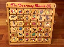 Vintage Playtown The Learning Board Wooden Abacus Easel AMAZING CONDITION