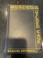 1st Edition Murder In The Gilded Cage Samuel Spewack Mystery 2nd Printing Novel