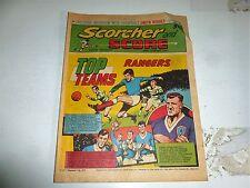SCORCHER & SCORE Comic - Date 28/08/1971 - UK Paper Comic
