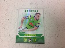 2017 NRL TRADERS PEARL SERIES, JOSH HODGSON, RAIDERS  # PS015