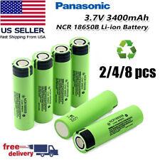 Panasonic 18650battery NCR18650B Li-Ion Rechargeable Battery - 3400mAh US STOCK