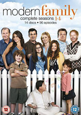 Modern Family Complete Collection 1-4 DVD Box Set All Seasons 1 2 3 4 UK R2 NEW