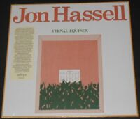 JON HASSELL vernal equinox UK LP new sealed REISSUE REMASTERED fourth world