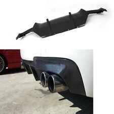 Rear Bumper Lip Diffuser Refit For BMW F10 528i 530i M-Sport 11-14 Carbon Fiber
