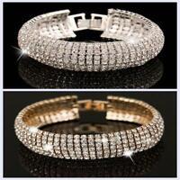 brautjungfer es fesselt 7. reihe crystal armband gold / silber - schmuck kette