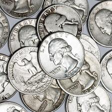$1 Face Value - 90% Silver U.S. Coins - Washington Quarters