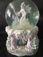 "San Francisco Music Box Co. Marjorie Sarnat Snow Globe Magic ""Faith Gives Wishes"