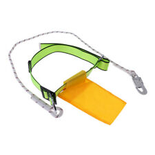 Safety Rock Tree Climbing Rappelling Harness Belt Rope with Carabiner Buckle