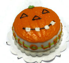 Halloween Cake Jack-O-Lantern Dollhouse Miniatures Food Deco Holiday Season 2
