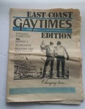 Vintage 1978 Gay Times Newspaper Magazine Gay Interest East Coast Ed #69