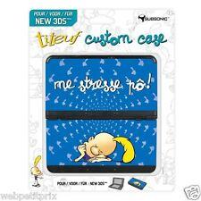Coques interchangeables Titeuf Bleu  Pour New Nintendo 3DS Neuf